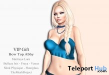 Bow Top Abby October 2016 Group Gift by ViSion S&F - Teleport Hub - teleporthub.com