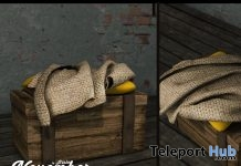 Chest Blanket & Pillow November 2016 Group Gift by Ariskea - Teleport Hub - teleporthub.com