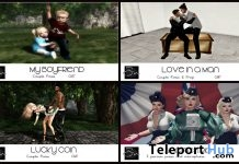 4 Poses Limited 4 Days Birthday Group Gifts by Something New - Teleport Hub - teleporthub.com