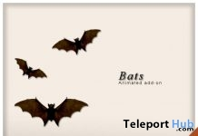 Animated Flying Bats Group Gift by WICKED - Teleport Hub - teleporthub.com