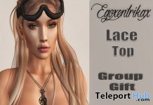 Lace Top with Appliers November 2016 Group Gift by Egoxentrikax - Teleport Hub - teleporthub.com