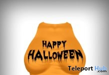 Happy Halloween Mesh Top Gift by Sophie's Boutique - Teleport Hub - teleporthub.com