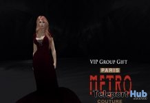 Distant Heart Gown With Appliers Group Gift by Paris METRO Couture - Teleport Hub - teleporthub.com