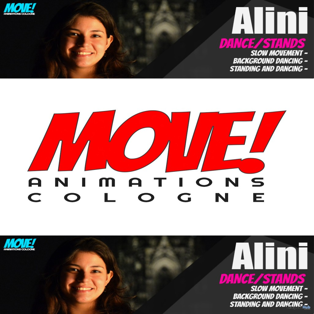 New Release: Alini Dance Pack by MOVE! Animations Cologne - Teleport Hub - teleporthub.com