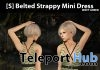 New Release: [S] Belted Strappy Mini Dress by [satus Inc] - Teleport Hub - teleporthub.com