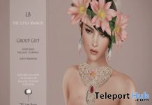 Lotus Bijou Jewelry Set Group Gift at October 2016 Shiny Shabby by The Little Branch - Teleport Hub - teleporthub.com