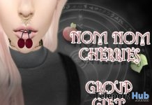 Nom Nom Cherries Group Gift by Peaches - Teleport Hub - teleporthub.com