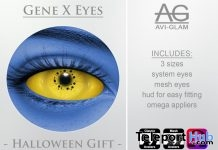 Gene X Eyes Halloween Gift by Avi-Glam - Teleport Hub - teleporthub.com