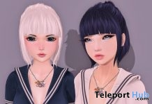 Yoko Hair Group Gift by Ayashi - Teleport Hub - teleporthub.com