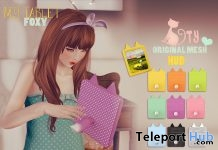 My Foxy Tablet With 9 Colors HUD 1L Promo Gift by Ninety - Teleport Hub - teleporthub.com