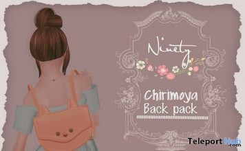 Chirimoya Backpacks 1L Promo Gift by Ninety - Teleport Hub - teleporthub.com
