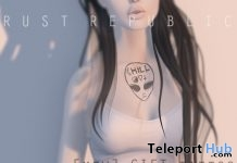Alien Chest Tattoo Gift by Rust Republic - Teleport Hub - teleporthub.com