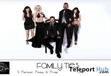 Family Ties Group Pose Group Gift by Something New - Teleport Hub - teleporthub.com