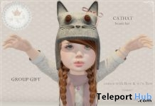 Cat Beanie Hat Group Gift by Tiny Trinkets - Teleport Hub - teleporthub.com