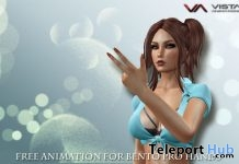 Bento Hands Free Animation Gift by Vista Animations - Teleport Hub - teleporthub.com