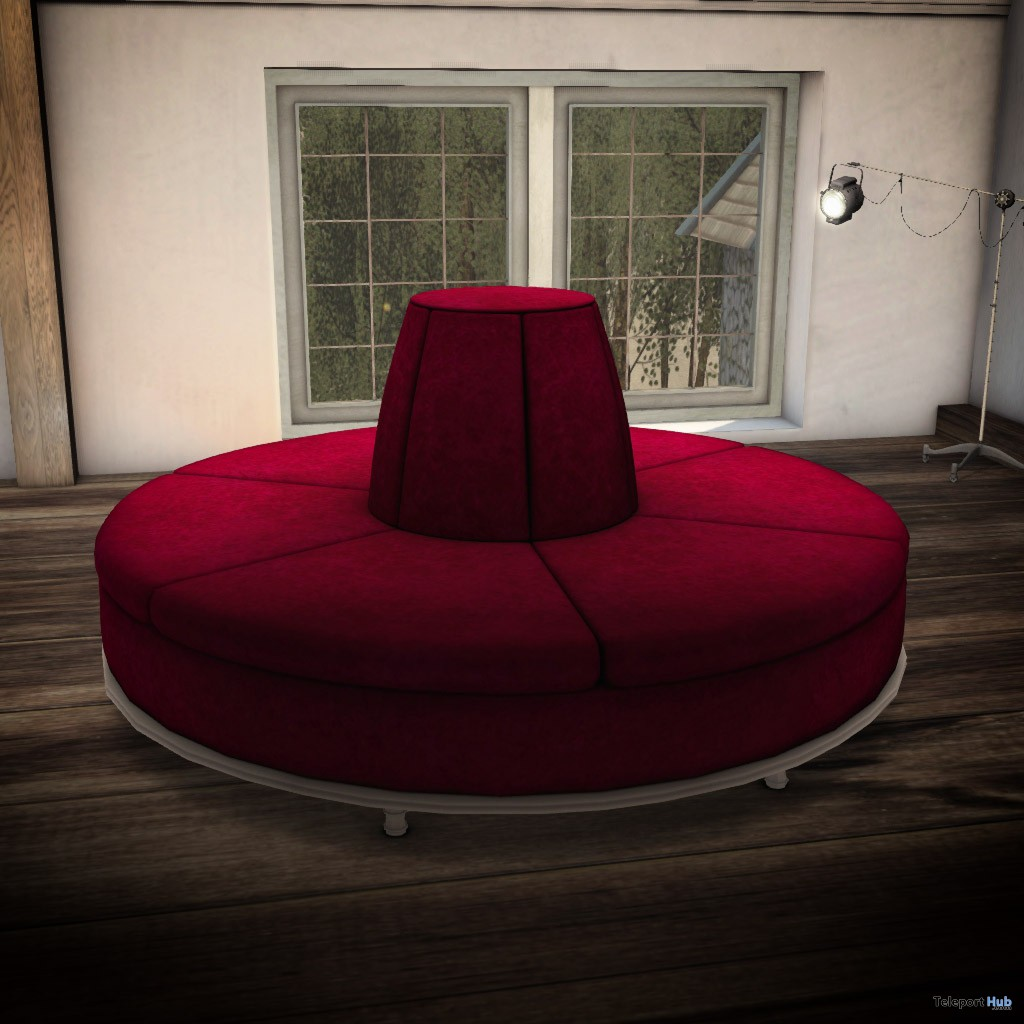 New Release Round Lobby Sofa By Warm Animations The Crossroads November 2017 Teleport