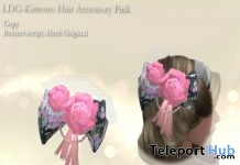 Kimono Hair Accessory Pink Collectors Collection Box Group Gift by LDG - Teleport Hub - teleporthub.com