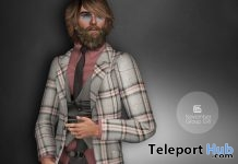 Plaid Men Suit November 2016 Group Gift by Gizza Creations - Teleport Hub - teleporthub.com