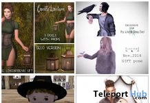 Several Group Gifts at Pose Lovers & Friends Event November 2016 Round by Various Designers - Teleport Hub - teleporthub.com
