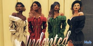 Aurora Coat Dress 4 Colors Holiday Gift by Indented - Teleport Hub - teleporthub.com