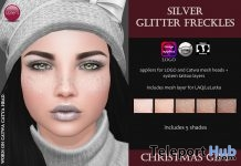 Silver Glitter Freckles Christmas Gift by Izzie's - Teleport Hub - teleporthub.com