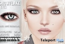 Snowflake Eyes Group Gift by !NFINITY - Teleport Hub - teleporthub.com