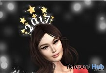 Happy New Year 2017 Headband Gift by Ariskea - Teleport Hub - teleporthub.com