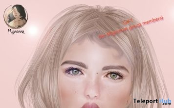 Tanit Christmas Skin for CATWA Head Group Gift by Mignonne - Teleport Hub - teleporthub.com