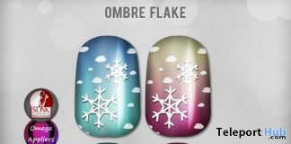 Ombre Flake Nails December 2016 Be Beauty Event Gift by LIVIA - Teleport Hub - teleporthub.com