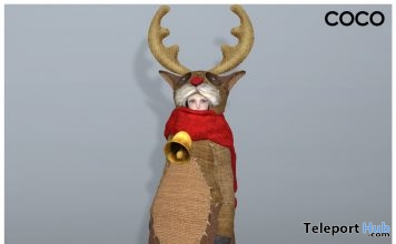 Reindeer Outfit 2016 Gift by COCO Designs - Teleport Hub - teleporthub.com