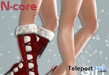 Kelda Boots And Kate Heels Christmas Gift by N-CORE - Teleport Hub - teleporthub.com