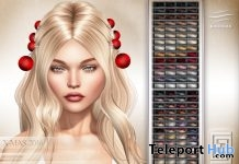 XMas 2016 Hair Fat Pack Gift by eXxEsS Hair - Teleport Hub - teleporthub.com