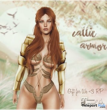 Callie Armor We Love Roleplay Christmas Group Gift by Belle Epoque - Teleport Hub - teleporthub.com