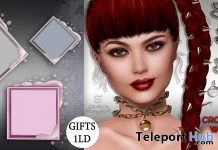 Snow Frames & Crosswise Chain With Pendant 1L Promo Gift by Sintiklia Hair - Teleport Hub - teleporthub.com