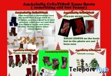 Xmas Boots Gift by AmAzInNg CrEaTiOnS - Teleport Hub - teleporthub.com