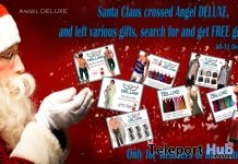 Merry Christmas Group Gifts by Angel DELUXE - Teleport Hub - teleporthub.com