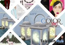 Several Color Me Project Event Gifts by Various Designers - Teleport Hub - teleporthub.com