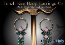 French Kiss Earrings V3 Subscriber Gift by Zuri Jewelry - Teleport Hub - teleporthub.com