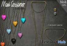 Sugar Heart Necklace Group Gift by Maxi Gossamer - Teleport Hub - teleporthub.com