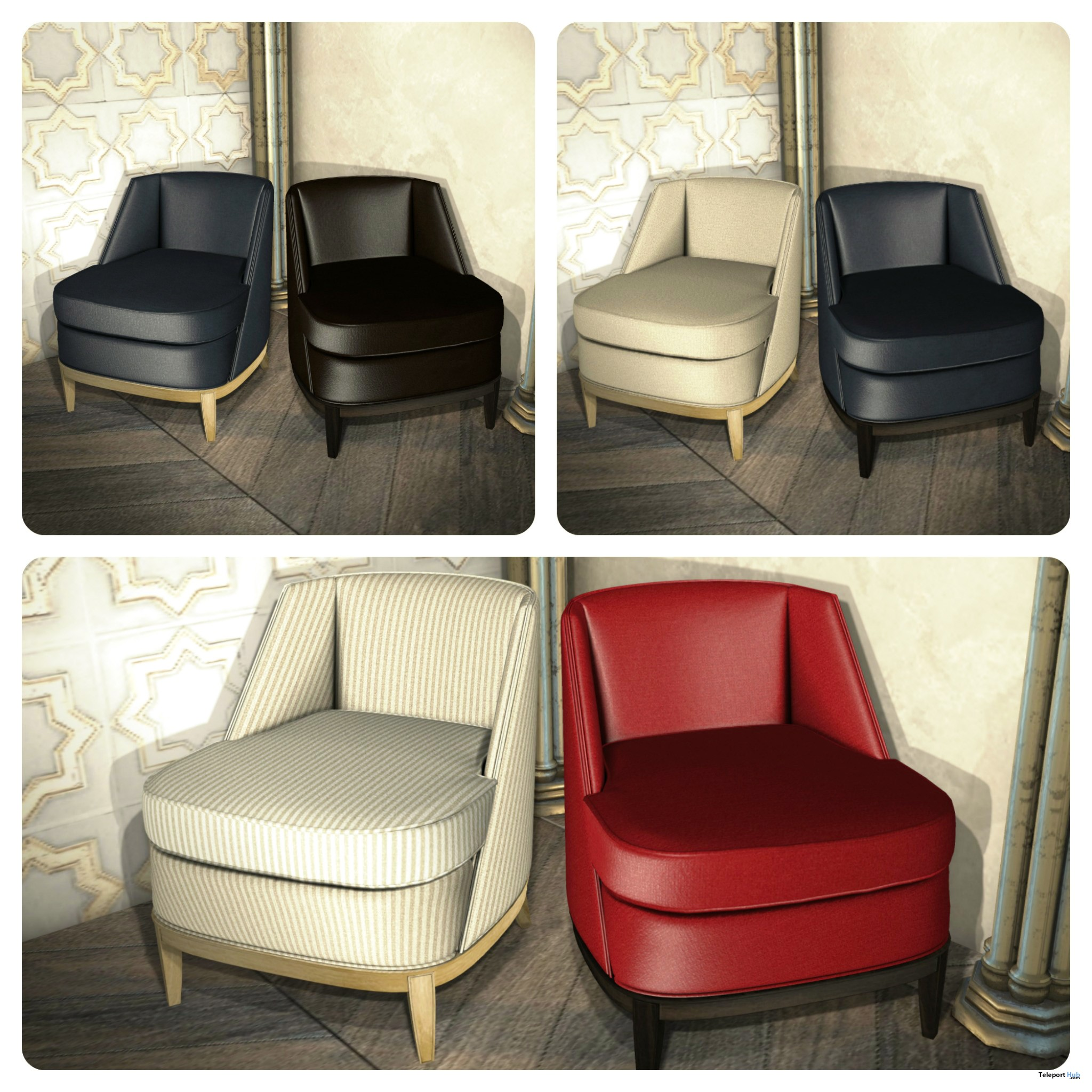 ... New Release: Upholstered Slipper Chair [Adult] U0026 [PG] By [satus
