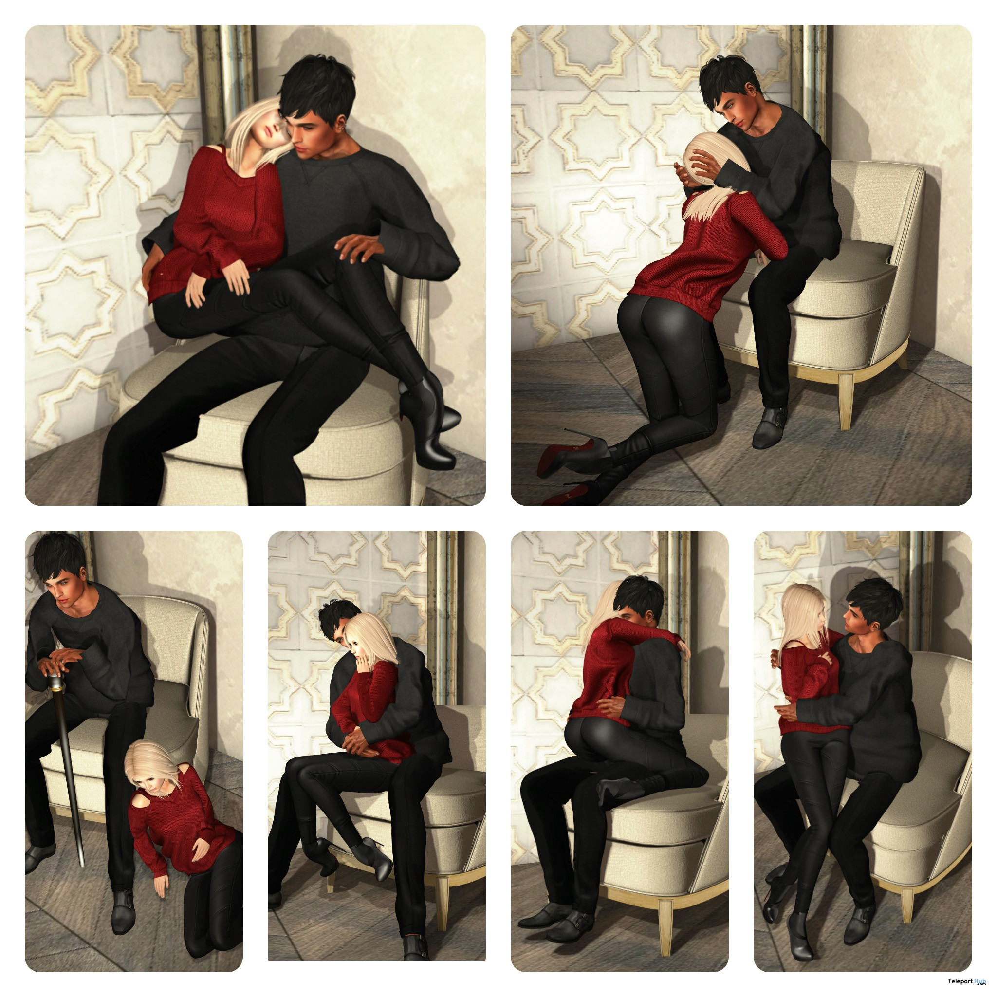 New Release: Upholstered Slipper Chair [Adult] & [PG] by [satus Inc] - Teleport Hub - teleporthub.com