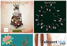 Several Christmas Gifts at The Arcade December 2016 by Various Designers - Teleport Hub - teleporthub.com