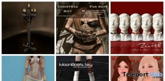 Ton of Christmas Group Gifts at We Love Roleplay Event by Various Designers - Teleport Hub - teleporthub.com