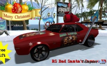 RS Bad Santa's Camaro V8 7.5L Gift by CUTE but FAST Tuning - Teleport Hub - teleporthub.com