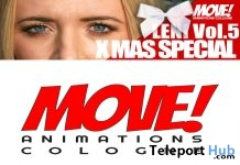 New Release: LENI Vol 5 Dance Pack by MOVE! Animations Cologne - Teleport Hub - teleporthub.com