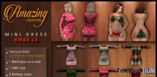 12 Xmas Mini Dresses Promo by AmAzInNg CrEaTiOnS - Teleport Hub - teleporthub.com