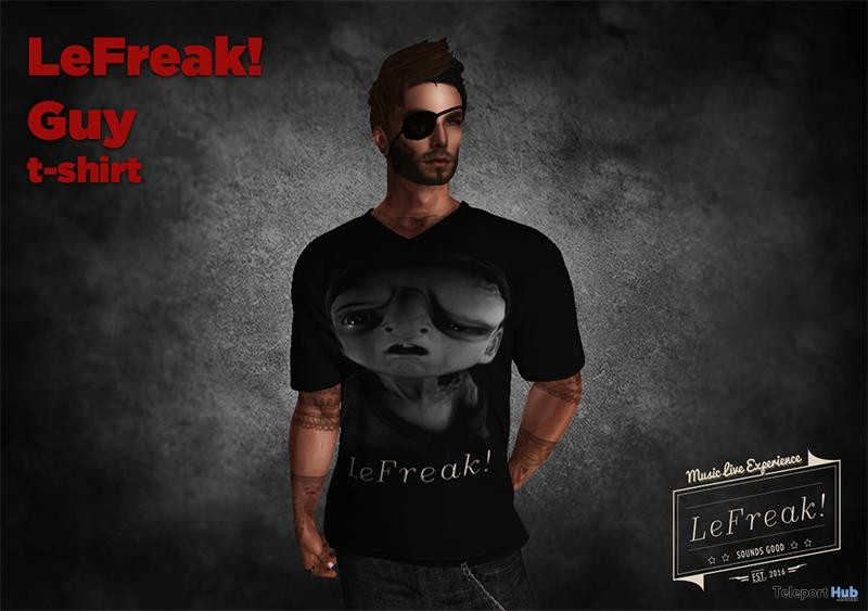Guy T-Shirt Group Gift by LeFreak! - Teleport Hub - teleporthub.com