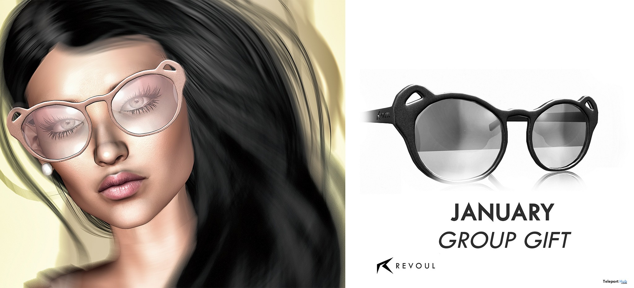 Rowan Shades Unisex January 2017 Group Gift by REVOUL - Teleport Hub - teleporthub.com