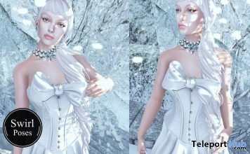 Snow Queen Female Pose January 2017 Group Gift by Swirl Poses - Teleport Hub - teleporthub.com