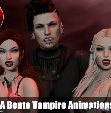 Catwa Bento Vampire Animations Subscriber Gift by CATWA - Teleport Hub - teleporthub.com